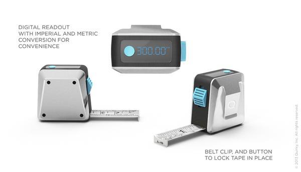 Tech Tape An App-Powered Tape Measure