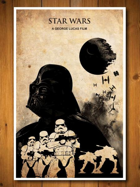 The 3-Piece Star Wars Poster Set