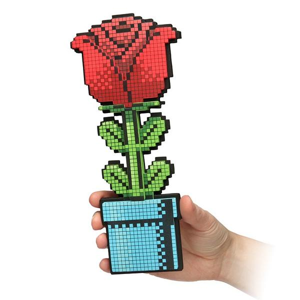 The 8 Bit Rose For Your Lover Gadgetsin