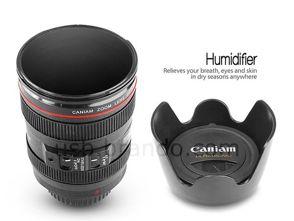 The Camera Lens Shaped USB Humidifier