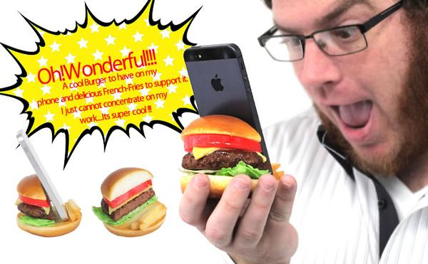 The Delicious Food Phone Stand for Your Smartphone