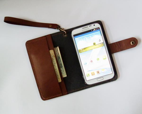The Handmade Galaxy Note 2 Leather Case