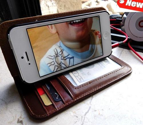 The Handmade Genuine Leather iPhone 5 Case