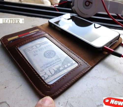 The Handmade Genuine Leather iPhone 5 Case