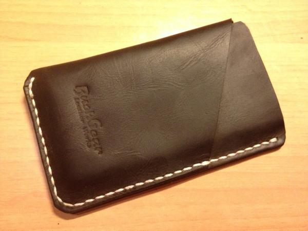 The Handmade Leather iPhone Wallet for iPhone 5