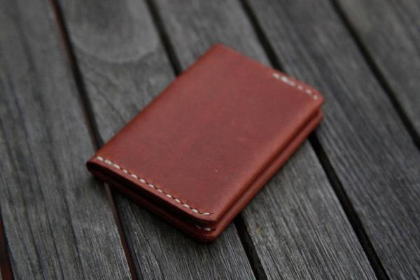 The Handmade Ultra Slim Leather Wallet