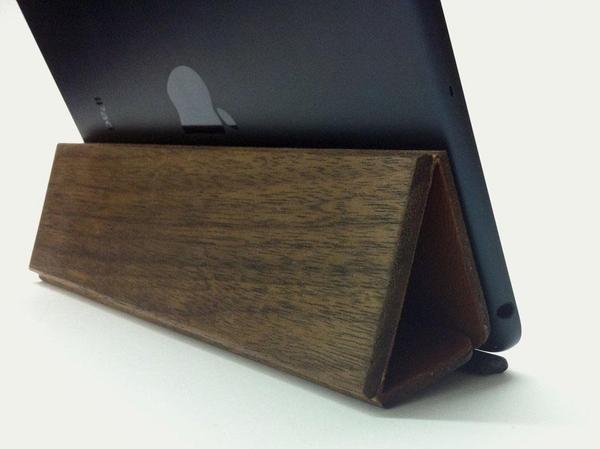 The Handmade Wooden iPad Mini Smart Cover