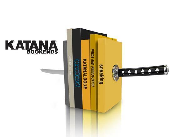 The Katana Bookends