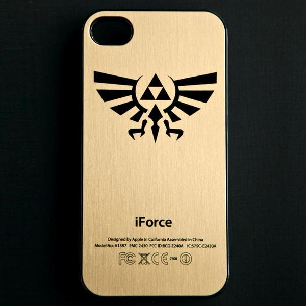 The Legend of Zelda Triforce iPhone Case