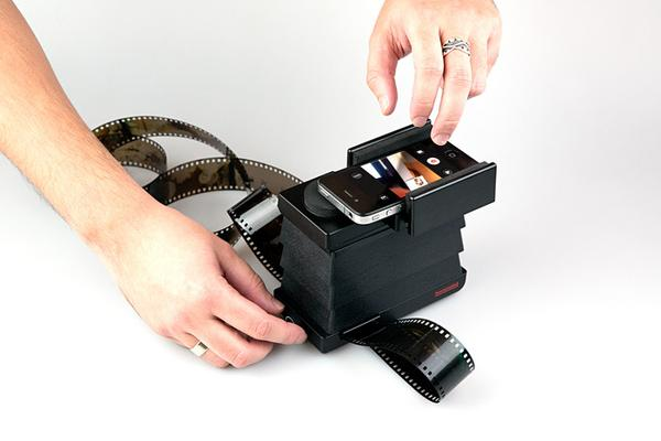 The Lomography Film Scanner for Smartphone