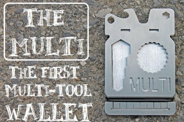 The MULTI Multi-Tool Wallet