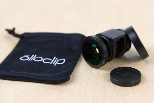 The Olloclip 3-In-1 Phone Lens for iPhone 5