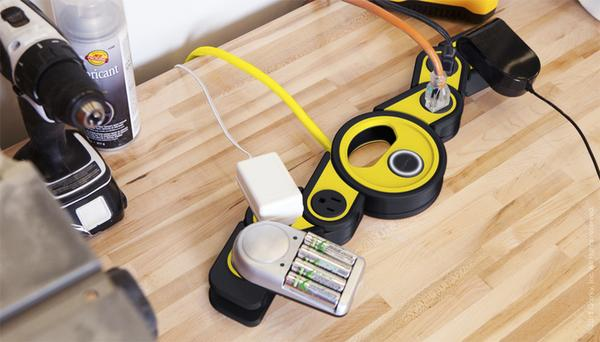 The Pivot Power Rugged Power Strip