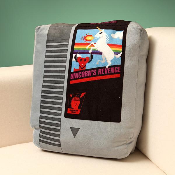 The Retro Video Game Cartridge Pillow Set
