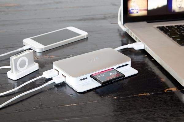 The Speed USB 3.0 Memory Card Reader