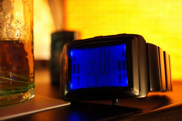 Tokyoflash OTO Sound Sensitive LCD Watch