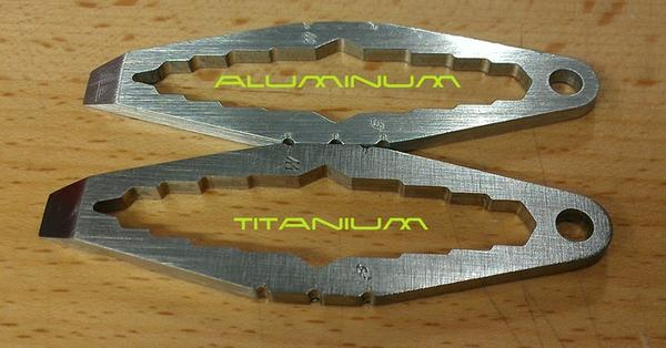 WTF Mini Titanium Keychain and Multi-Tool