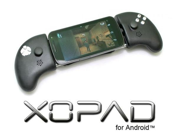 XOPAD Open Source USB Game Controller for Android Phones