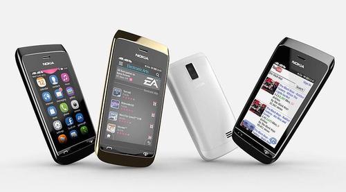 Nokia Asha 310 Dual SIM Smartphone with WiFi Announced