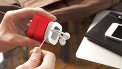 PowerCurl Mini Adapter Holder and Earphone Cord Organizer