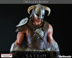 The Elder Scroll V- Skyrim Dragonborn Collectible Statue