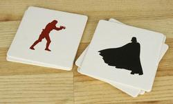 Star Wars Letterpress Coaster Set