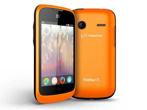 ZTE Open Firefox OS Smartphone Announced