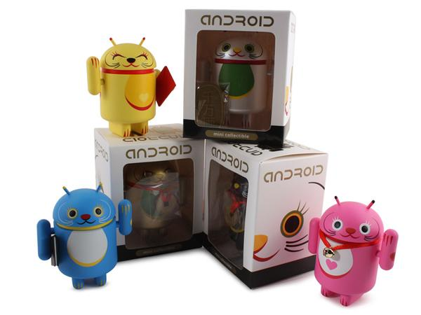Android Collectible Mini Figure Lucky Cat Series