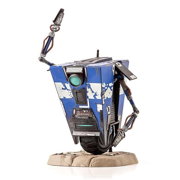 Borderlands Blue Claptrap Figure Limited Edition