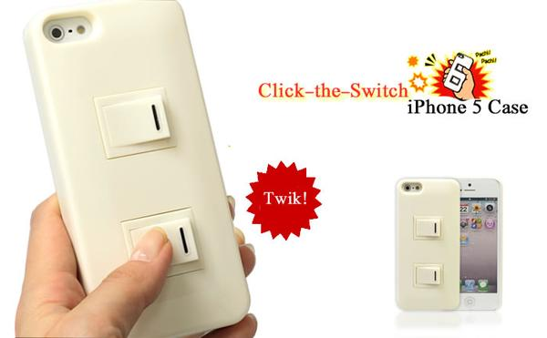 Click-the-Switch Hard iPhone 5 Case