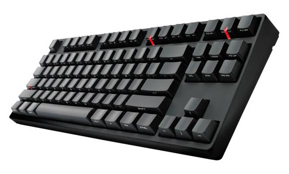 Cooler Master Quickfire Stealth Mechanical Gaming Keyboard