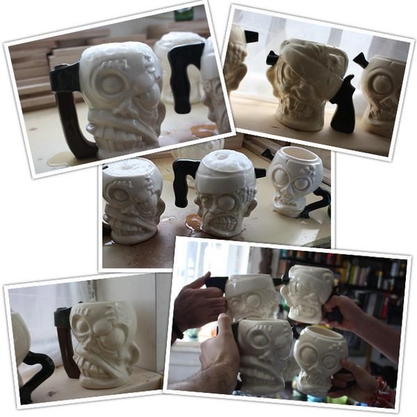 Cthulhu and Zombie Mugs and Cups
