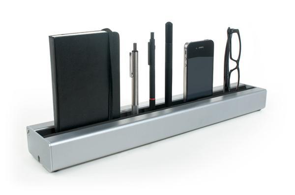 Desk Rail Aluminum Desk Organizer | Gadgetsin