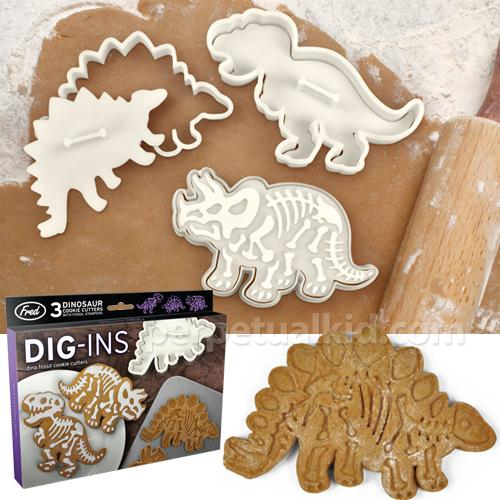 Dig-Ins Fossil Cookie Cutter Set