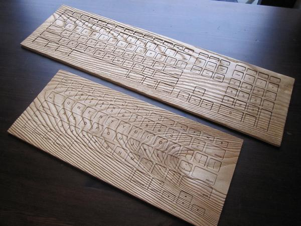 Engrain Tactile Wood Keyboard Skin Set