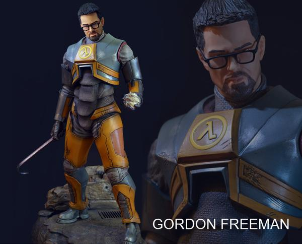 Half Life Gordon Freeman Collectible Statue