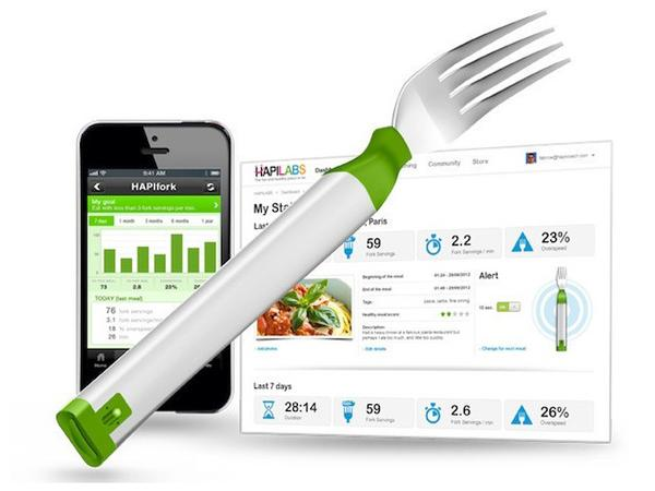 HAPIfork Smart Fork Tracking Your Eating Habits