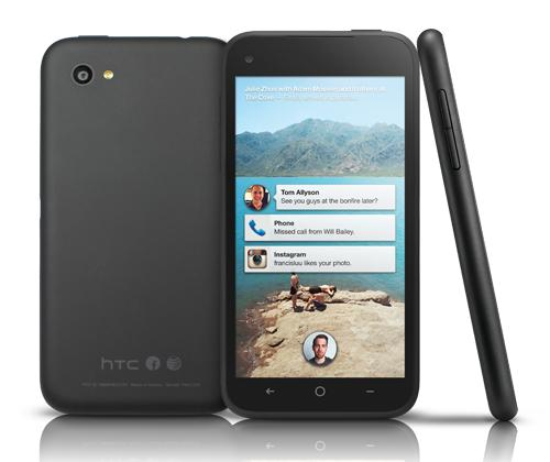 HTC First Android Phone with Facebook Home Announced