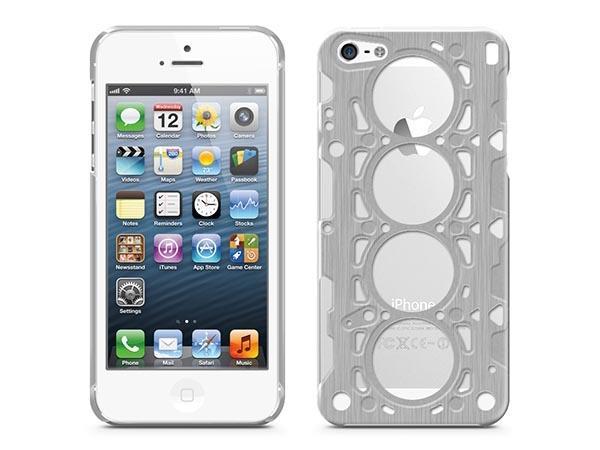 id America Gasket V8 Aluminum iPhone 5 Case