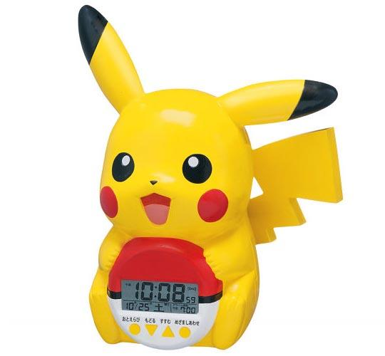 Pokemon Pikachu Talking Alarm Clock