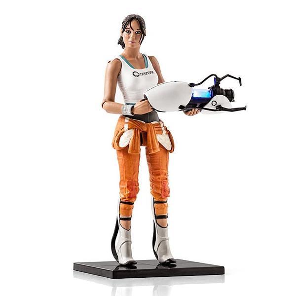 Portal 2 Chell Action Figure