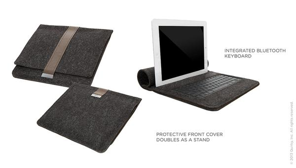 Rollback iPad Sleeve with Bluetooth Keyboard