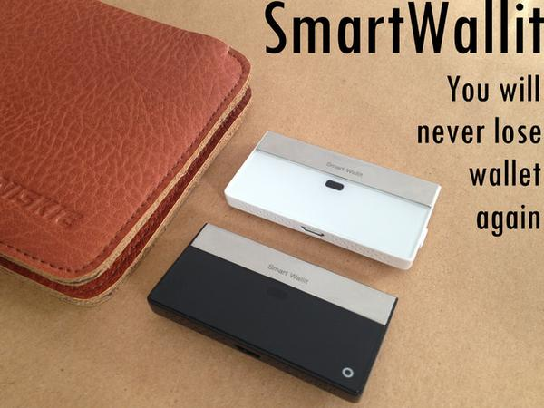 SmartWallit Wireless Tracker for Your Wallet