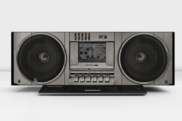 Soundfreaq Boom Freaq Boombox Styled Wireless Speaker