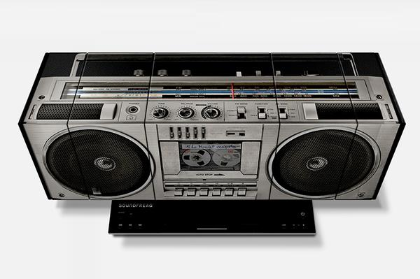 Soundfreaq Boom Freaq Boombox Styled Wireless Speaker