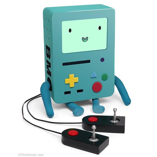The Adventure Time BMO Interactive Buddy with Game Controllers for iPad Mini
