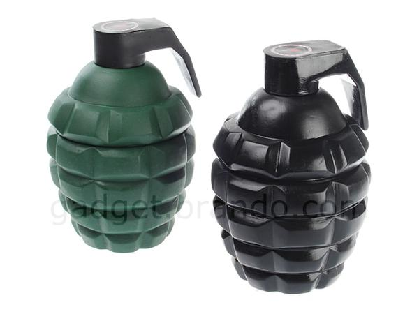 The Huge Grenade Shaped Coffee Mug with LED Lights