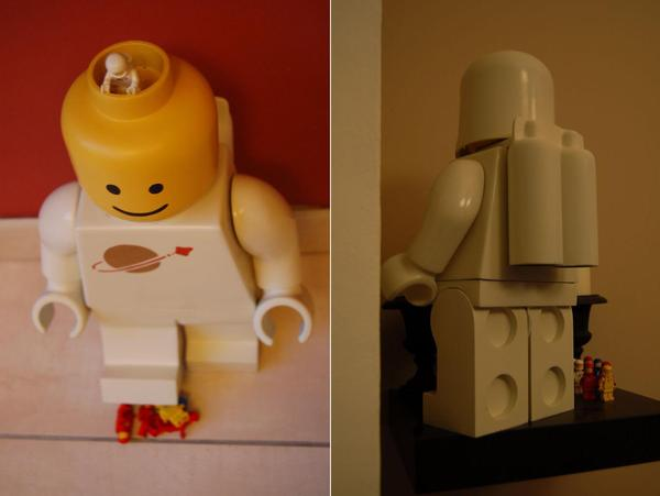The Oversize Space LEGO Minfigure