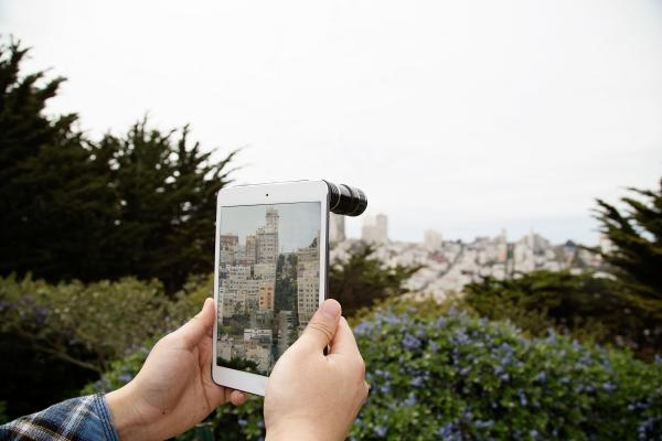 The Telephoto Lens for iPad Mini and iPad 4