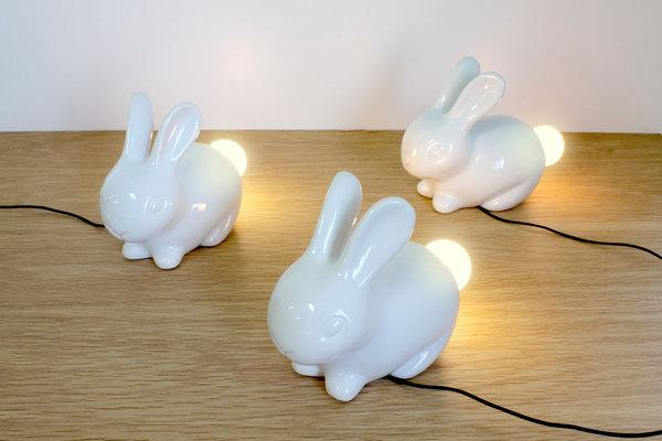 The White Bunny Night Light